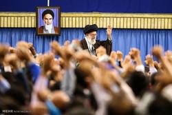 İslam İnkılabı Rehberi öğretmenleri kabul etti