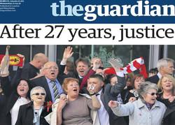 صفحه اول روزنامه های انگلیسی ۸ اردیبهشت ۹۵