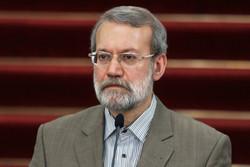 لاريجاني: وحدة الاراضي العراقية مبدأ هام لاستتباب الامن في المنطقة