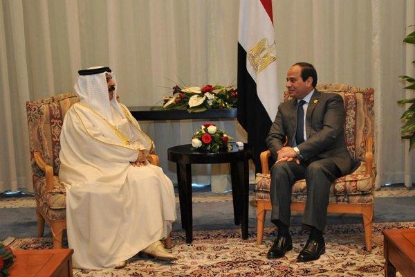 رایزنی «سیسی» و پادشاه بحرین درباره تحولات منطقه