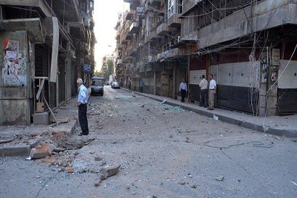 فلم/ حلب کی شہری آبادی پر وہابی دہشت گردوں کے حملے جاری