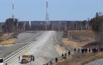 موشک ماهواره بر سایوز روسیه پرتاب شد