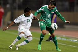 تیم ملی عربستان - تیم ملی عراق