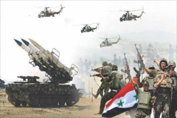 سلاح الجو السوري يستهدف مقرات ارهابيي داعش في دير الزور
