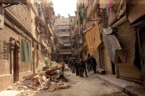 حلب میں مسجد پر داعش کے راکٹ حملے میں 16 افراد جاں بحق