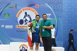 Barari claims gold at Asian Weightlifting C'ships