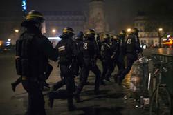 Labor protesters, police clash in France