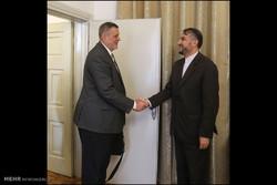 BM Irak Özel Temsilcisi ile Emir Abdullahiyan görüştü