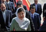 Korean president arrives in Tehran