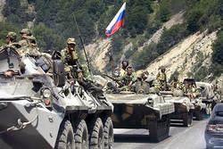 وصول رتل عسكري روسي إلى مدينة عفرين شمال سوريا