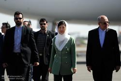 S Korea pres. arrives in Tehran for historic visit