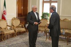 دیدار های محمد جواد ظریف وزیر امور خارجه