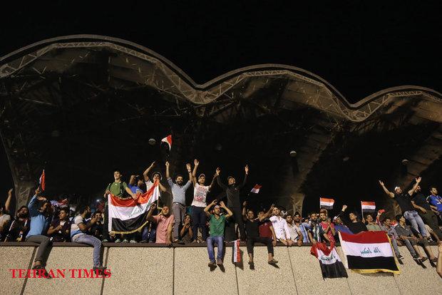Al-Sadr supporters storm parliament