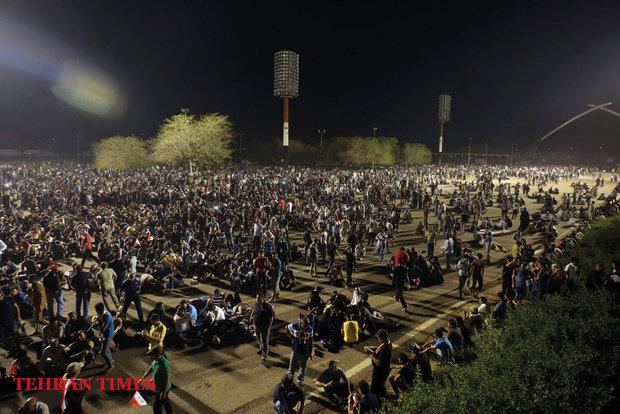 Al-Sadrsupportersstorm parliament