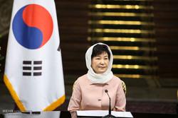 نشست خبری روسای جمهور ایران و کره جنوبی