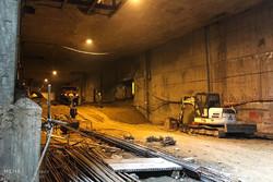 عملیات تیر گذاری  پروژه تونل انقلاب سنندج آغاز شد