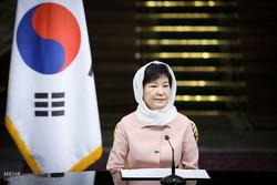 مراسم استقبال رسمی از رییس جمهور کره جنوبی