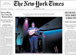 صفحه اول روزنامهها انگلیسی ۱۳ اردیبهشت ۹۵