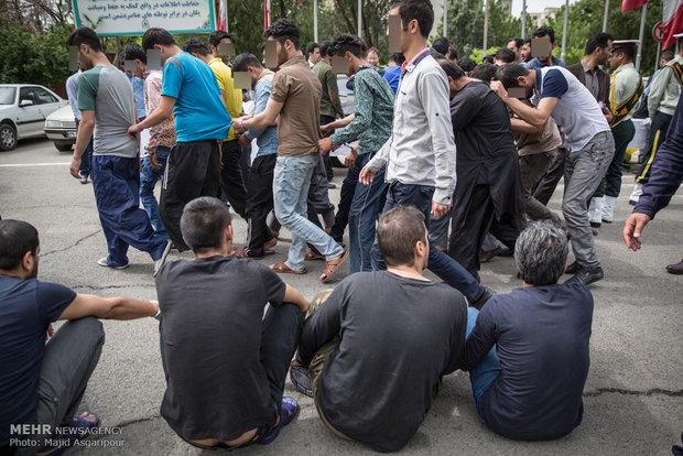 القاء القبض على سارقي العاصمة الايرانية طهران