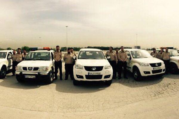 ۴۰۰ نیروی شهربان مسئول برقراری انضباط شهری در مراسم ارتحال امام