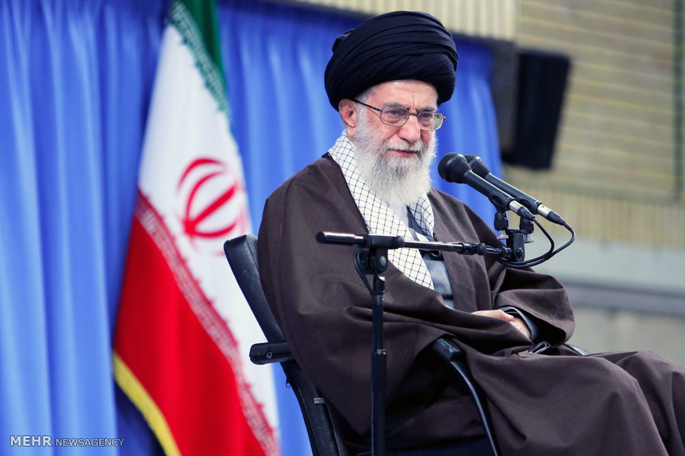 Leader says Persian Gulf is the 'home' of Iranians