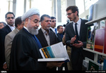 President Hassan Rouhani opens Tehran Intl. Book Fair