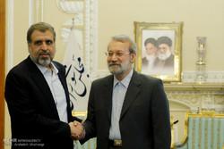 Laricani, Ramazan Abdullah'la görüştü