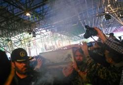 دو شهید گمنام در رشت تشییع شدند