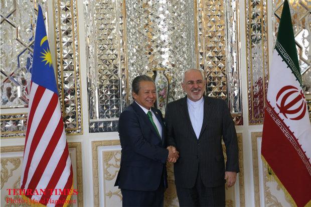 Iran, Malaysia FMs meet in Tehran