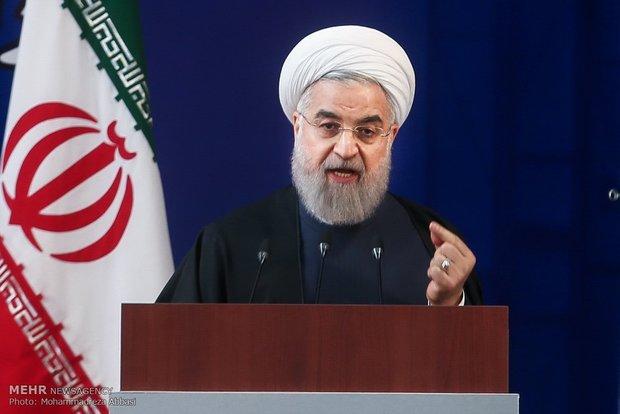 روحاني : نحن متفائلون بالاتفاق النووي وليس تجاه امريكا