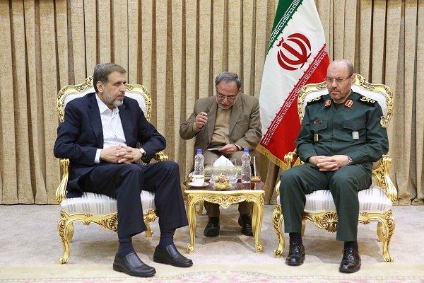 وزير الدفاع : ايران تقف الى جانب الشعب الفلسطيني حتى النهاية