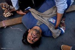 بولیویہ میں معذور افراد کا احتجاج