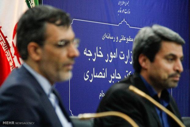 FM spokesman hold presser in Tabriz