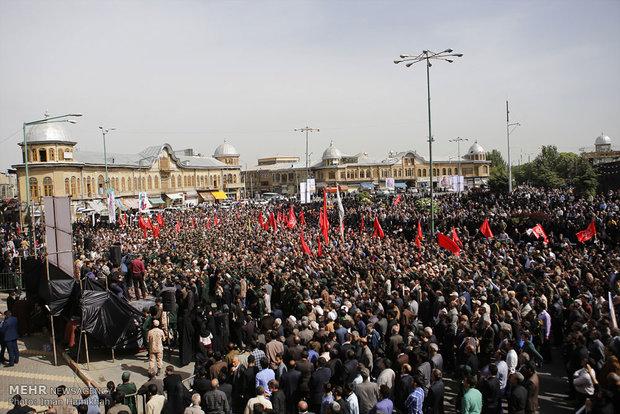 مراسم تشییع پیکر سردار شهید علیرضا شمسیپور