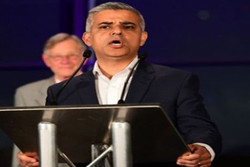 شهردار لندن صادق خان