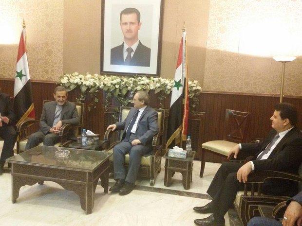 Iran stresses continuing talks on Syrian crisis
