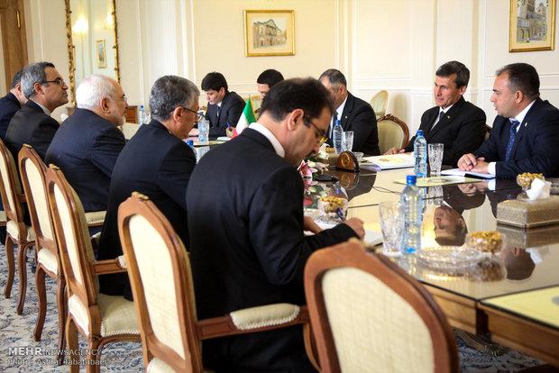 دیدار وزرای خارجه ترکمنستان و ایران