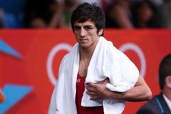 حمید سوریان عضو تیم ملی کشتی فرنگی ایران