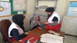 اعزام کاروان های سلامت هلال احمر به مناطق محروم استان کرمانشاه