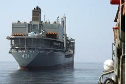 """إطلاق حاملة مروحيات """"خارك"""" في مهمة لأكبر أسطول حربي لإسناد غرب آسيا"""