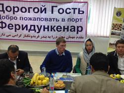 خبراء روس يزورون محافظة مازندران الايرانية لتسهيل استيراد المنتجات الزراعية منها