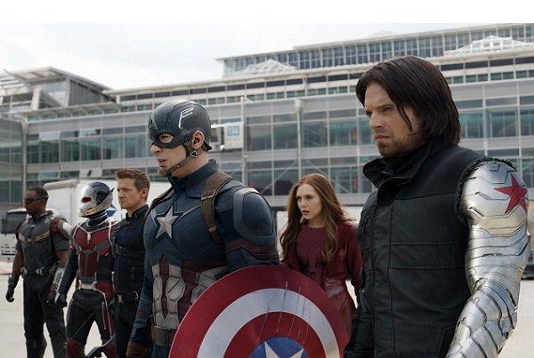 «کاپیتان آمریکا» پنجمین افتتاحیه بزرگ آمریکا را به نام خود کرد