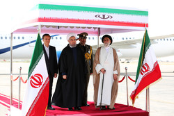 President Rouhani in Kerman for provincial tour
