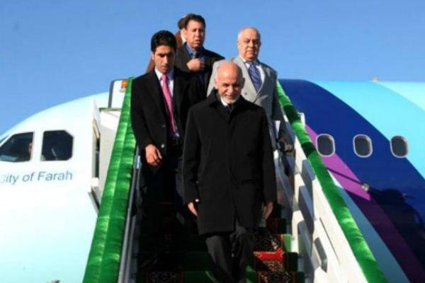 افغان صدر اشرف غنی تہران پہنچ گئے