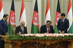 افغانستان و تاجیکستان ۲ سند همکاری امضا کردند