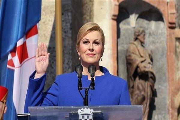 Hırvatistan Cumhurbaşkanı Kitarovic Türkiye'ye gelecek