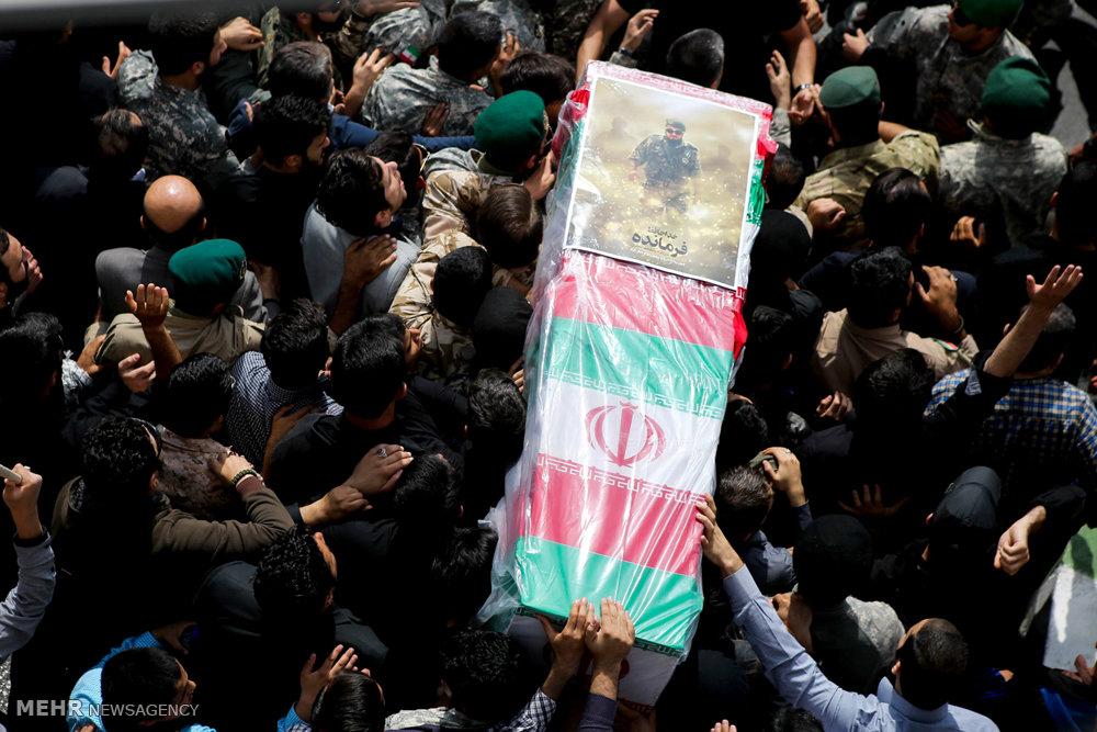 تشییع پیکر سردار شهید محمد ناظری