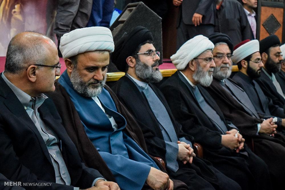 تشييع جثمان الشهيد مصطفى بدر الدين القيادي في حزب الله