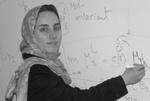 بانوی ریاضیدان ایرانی عضو آکادمی علوم آمریکا شد
