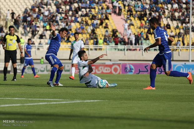 احتفال نادي استقلال خوزستان بالفوز بلقب بطولة الدوري الممتاز